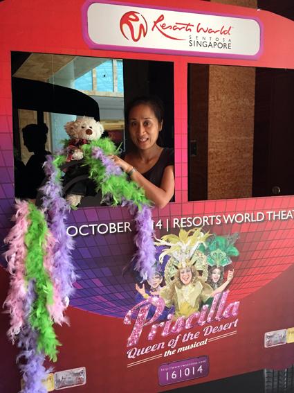 Priscilla in Singapore